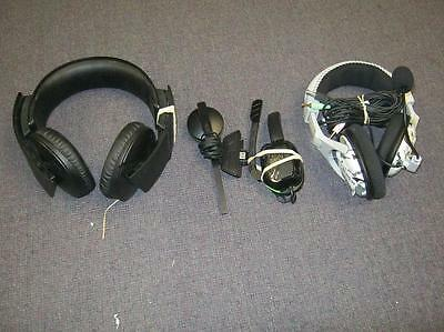 Lot of 4 DEFECTIVE Headsets.