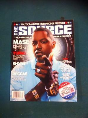 The Source Magazine with mase on the cover,September 2004