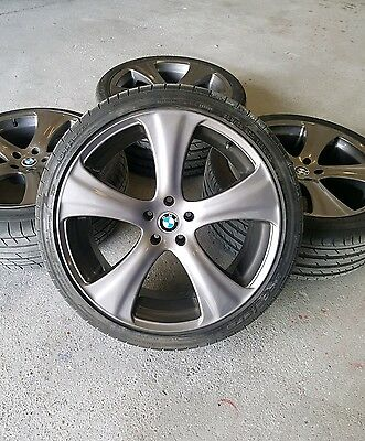 Kahn RSC 22 inch alloy wheels  for BMW X5 with tyres