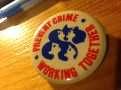 Prevent Crime Working Together button