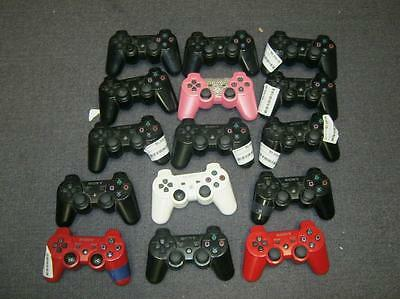 Lot of 15 DEFECTIVE PS3 CONTROLLERS