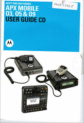 Motorola CD Manual APX MOBILE 03 05 09 User Guide #PMLN5336E