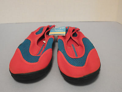 Women's Water Shoes Color: Red/Blue, Size: 9-10, New with Tags By Fun In the Sun