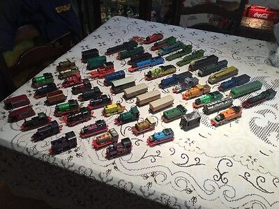 Thomas The Tank Engine  X 55 Pieces..  Ertl Engines And Carriages..