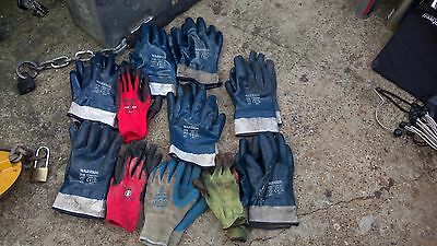 work gloves hgv used job lot