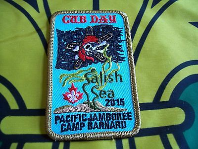 Canadian Scout badge/patch Cub Day  Pacific Jamboree 2015