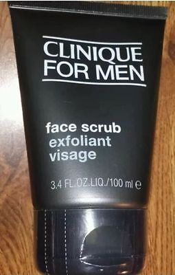 Clinique for Men Face Scrub 100ml New & Sealed
