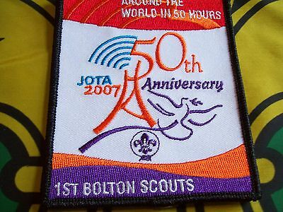 Canadian Scout badge/patch Jota 2007 5oth Anniversary