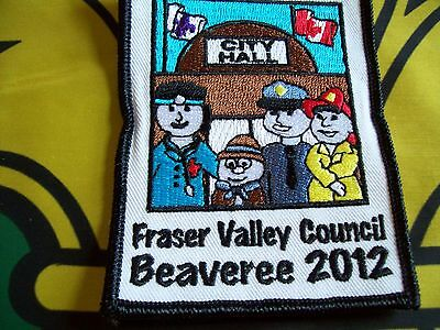 Canadian Scout badge/patch  Fraser Valley Council Beaveree