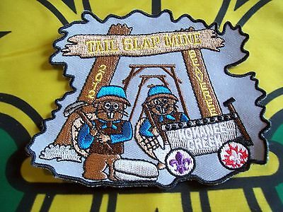 Canadian Scout badge/patch  Tail Slap Mine Beaveree