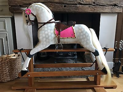 Traditional Wooden Collinson Vintage Rocking Horse Child's Gift Birthday