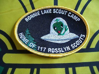 Canadian Scout badge/patch Bonnie Lake scout Camp