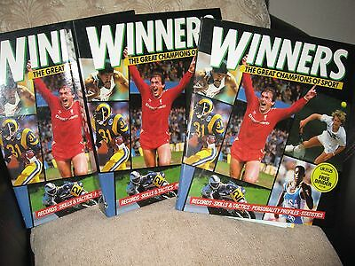 WINNERS The Great Champions of Sport Magazine - Collection in 3 Binders