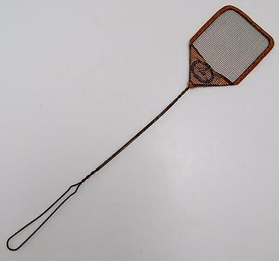Vintage Double Aa Mfg. Co. Eldora Iowa Wire Mesh Fly Swatter with Metal Handle