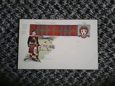 Old PC Clan MATHESON Tartan Slogan and Coat of Arms