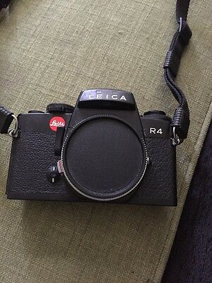 Leica R4 35mm SLR Film Camera Body Only W Shoulder Strap