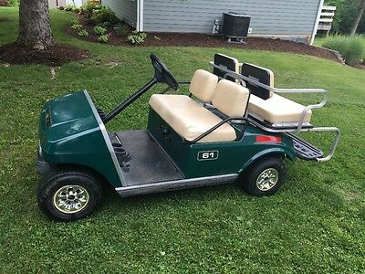 Club Car electric golf cart 36 volt with charger and NEW BATTERIES Ezgo Yamaha