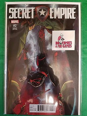 Secret Empire #2 J. Scott Campbell VARIANT Solid 9.6 or better