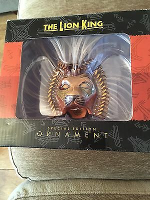 Disney The Lion King Broadway Musical Special Edition Ornament Simba Mask