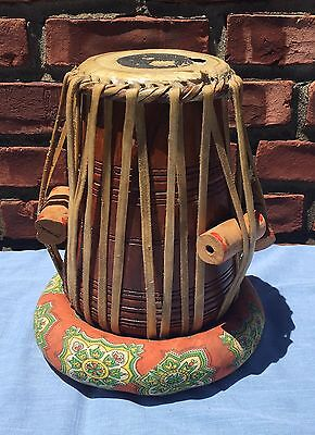 Authentic Handmade Indian Tabla Wooden Drum