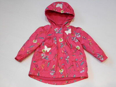 Girls Fleece Lined Cagoule  Age 2-3 Years