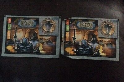 ROBOT WARS  (2001 stickers, 1 Full Unopened Pack, Plus Opened Pack.