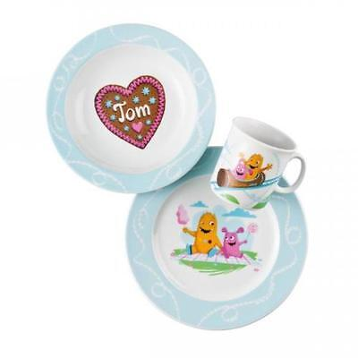 Rosenthal Thomas Sunny Day Kids Breakfast Porcelain Set Tom and his Sister