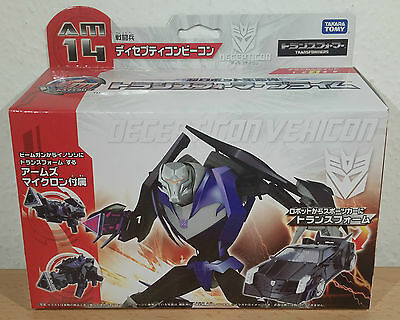 """Transformers Prime AM-14 """"Vehicon + Micron"""" Arms Micron Takara Deluxe NEW MISB"""
