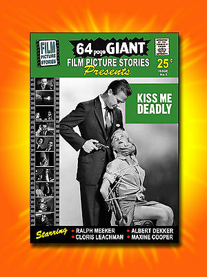 Very Rare Film Comic  KISS ME DEADLY 1955