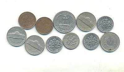 Very Nice Rare.mixed Lot Of Usa.coins Very Collectable.f.105