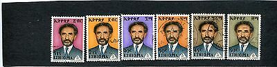 Ethiopia: lot of 10 stamps. SCV: $11.40.  see description.