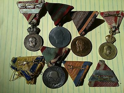 Old Wwi Austro Hungarian Medal Group