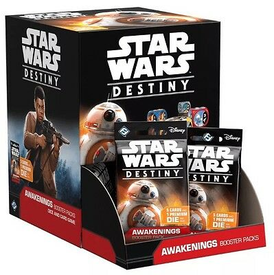 Star Wars Destiny Awakenings Booster Box Sealed!