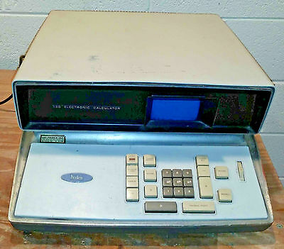Vintage WORKING Friden Model 130 transistor desktop calculator with CRT display