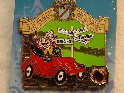Disney Piece of History II Mr. Toad's Wild Ride LE pin 2006