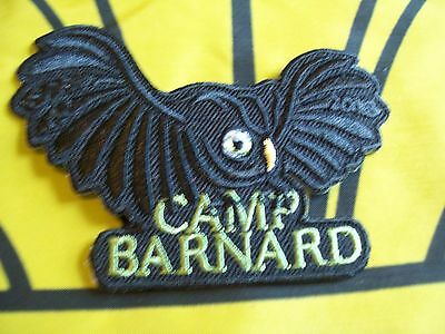 Canadian Scout badge/patch Camp Barnard