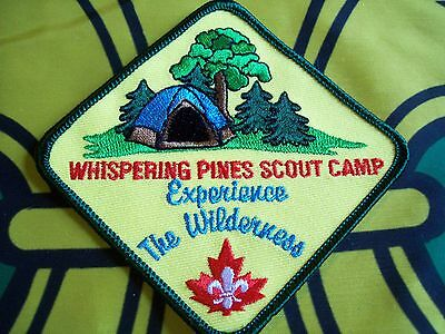 Canadian Scout badge/patch Whisper Pines Scout Camp