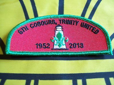 Canadian Scout badge/patch 6th Coburg Trinity united