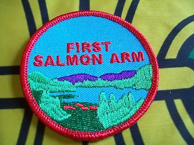 Canadian Scout badge/patch First salmon Arm