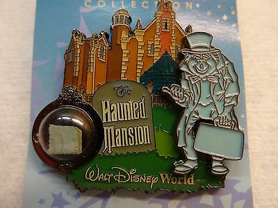 Disney Piece of History II  Haunted Mansion LE pin 2006 Hitchhiking Ghost