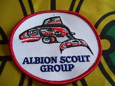 Canadian Scout badge/patch Albion Scout Group