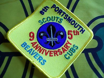 Canadian Scout badge/patch 8th Portsmouth 95 anniversary