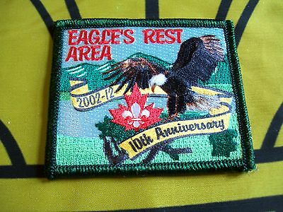 Canadian Scout badge/patch Eagle's Rest Area 10th Anniversary