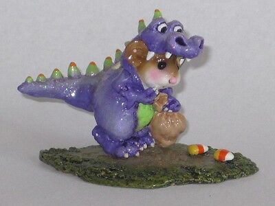 Wee Forest Folk - M-377 DRAGON DRESS-UP purple
