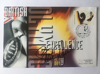 Signed Sir Steve Redgrave First Day Cover Olympics