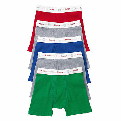 Hanes Toddler Boys' Boxer Briefs with Comfort Flex® Waistband 5-Pack