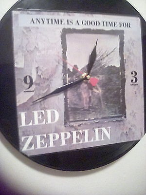 New Original Led Zeppelin - Zoso -Clock -Anytime Is A Good Time For Led Zeppelin