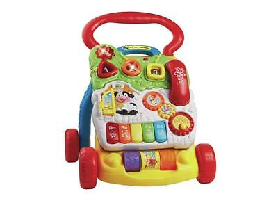 VTech First Steps Baby Walker Toy Push Along Activity Learning Music Musical New