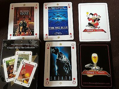PLAYING CARDS STELLA ARTOIS SCREEN BIER ARMADILLO Classic Movie Art Collection