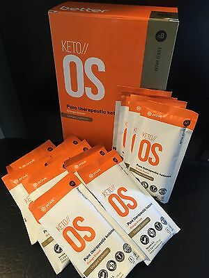 Keto OS by Pruvit Orange Dream Caffeinated - 13 OTG Packs FREE SHIPPING